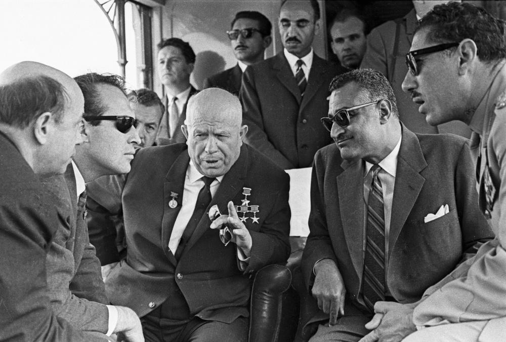 نتيجة بحث الصور عن خروتشوف وعبدالناصر