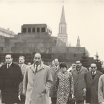 زيارة رئيس مجلس الأمة أنور السادات للإتحاد السوفيتي وجولة في الميدان الأحمر وأسوار الكرملين 1967