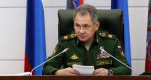 وزير الدفاع الروسي سيرجي شويجو