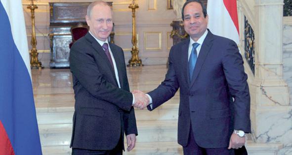 الرئيسان السيسى و بوتين