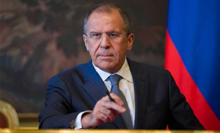 """سيرغي لافروف """"وزير خارجية روسيا """""""