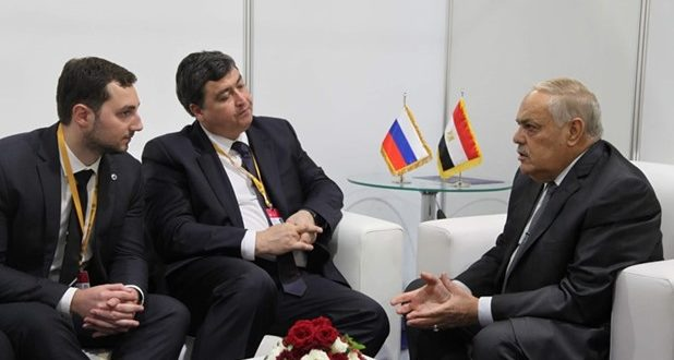 التراس يلتقي نائب رئيس شركة أتوم الروسية